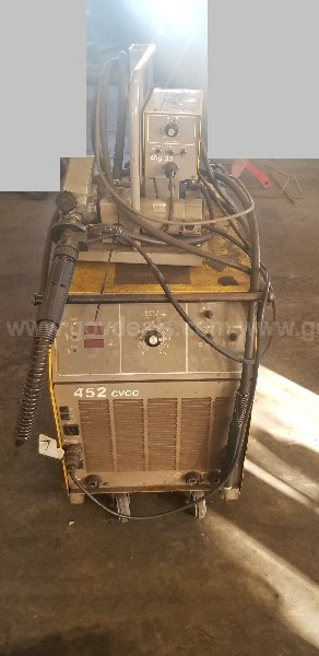 ESAB 452 CC Welder With MIG 35 Wire Feeder