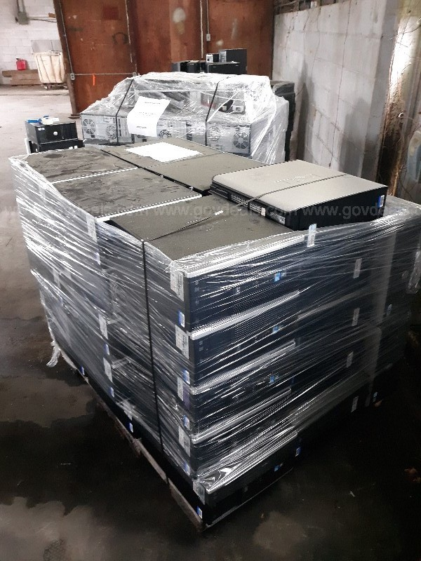Lot of CPUs (2 Pallets wrapped and strapped)