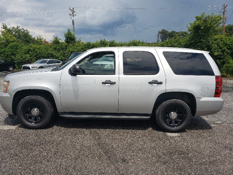 2011 Chevrolet Tahoe Police 4-DR, 5.3L V8 Automatic 2WD