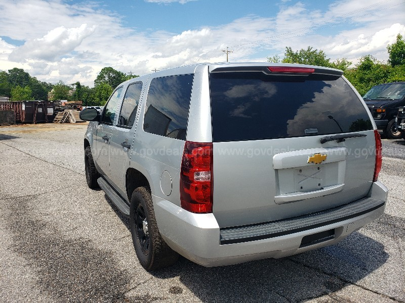 2012 Chevrolet Tahoe Police 4-DR, 5.3L V8 Automatic 2WD