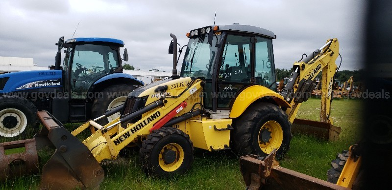 2012 New Holland Backhoe