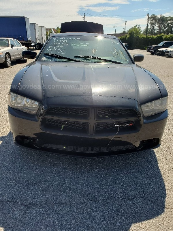 2014 Dodge Charger Police 4-DR, Automatic, Gas, 5.7L V8