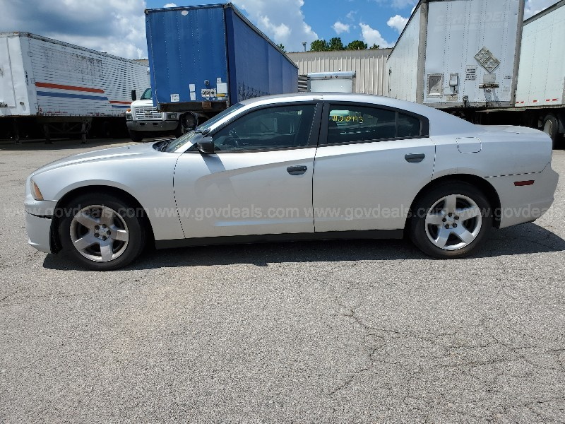 2013 Dodge Charger Police 4-DR, Automatic, Gas, 5.7L V8