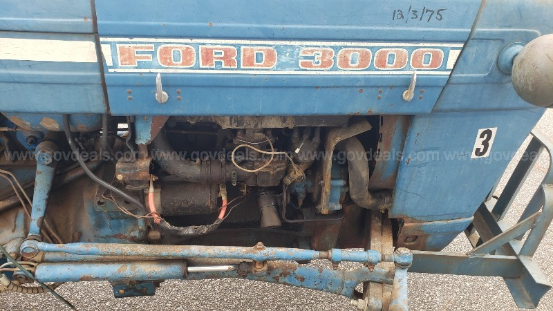 Ford 3000 Utility Tractor