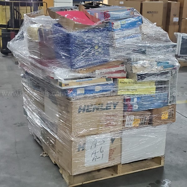 Lot of Office Supplies (2 Pallets)
