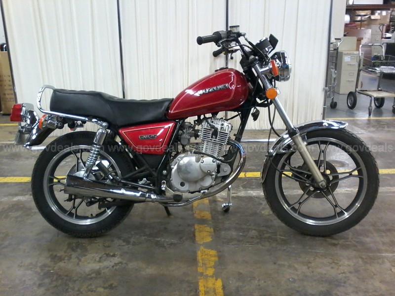 1995 Suzuki GN125ES/USED/PICK UP ONLY/SG000478/DS16037-2/INV86774/JPSC