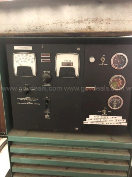 Burlec Electric Generating Set