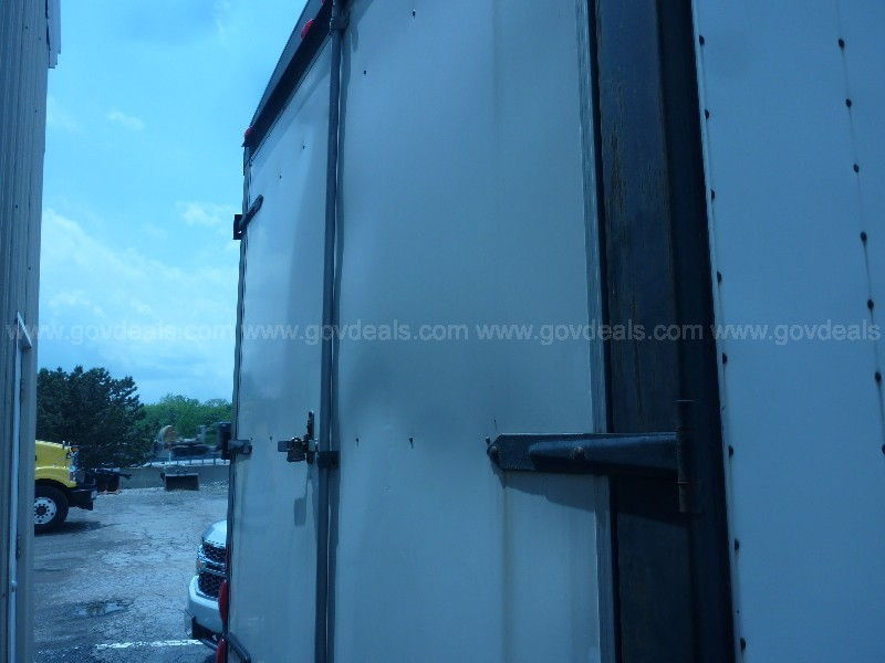 2001 GLCT Model PTS80 Enclosed Trailer (USED)
