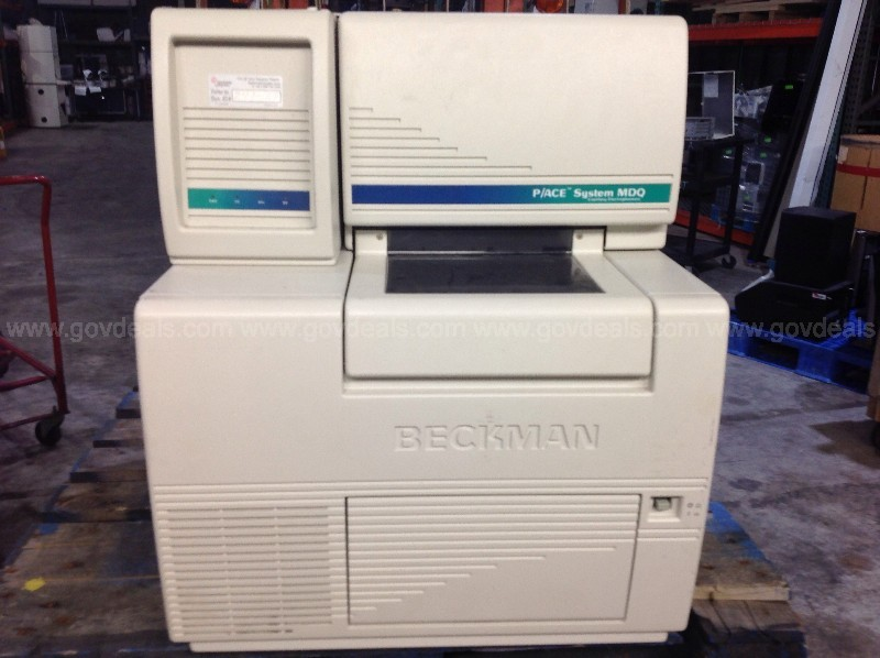 Beckman Coulter 144002 P/ACE MDQ Capillary Electrophoresis System