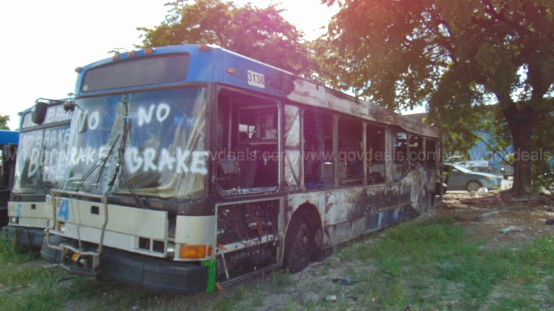 1-3138/ 2003 North American Bus Industries Transit bus. DTPW 20-03 #4