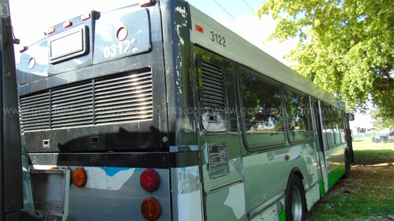 1-3122/ 2003 North American Bus Industries Transit bus. DTPW 20-05 #14