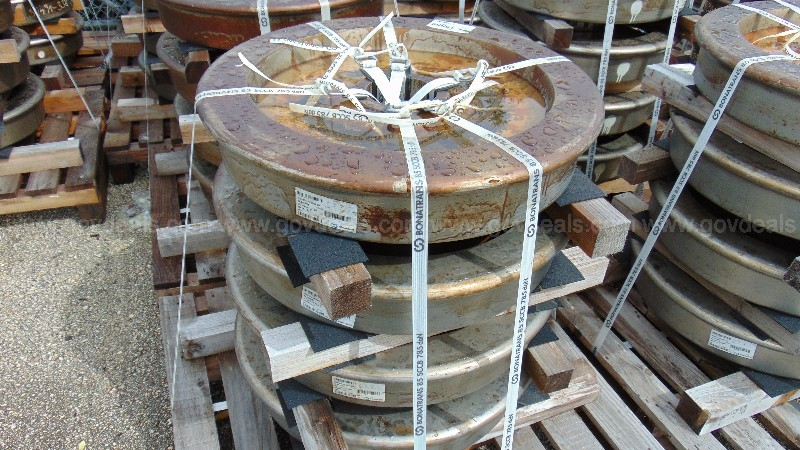 One lot of train wheels. DTPW 21-04