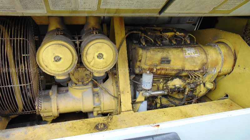 24-0861/ Ingersoll Rand trailer mounted air compressor .WASD 21-04 # 29