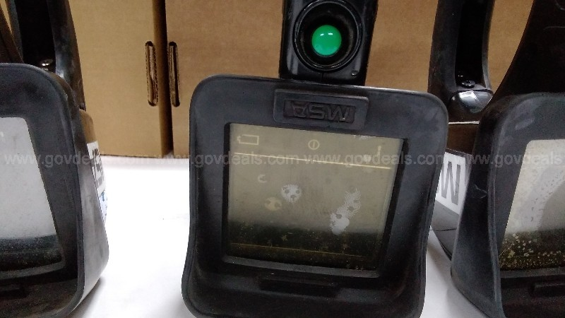 670690/ 661445/ 670690/ One lot of (4) Used MSA Thermal Imaging cameras