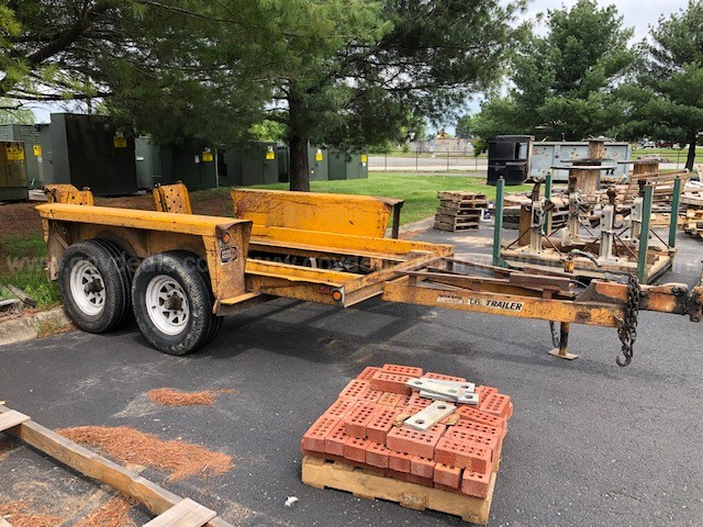 1973 T-6 Ditch Witch Tandem Axle Trailer