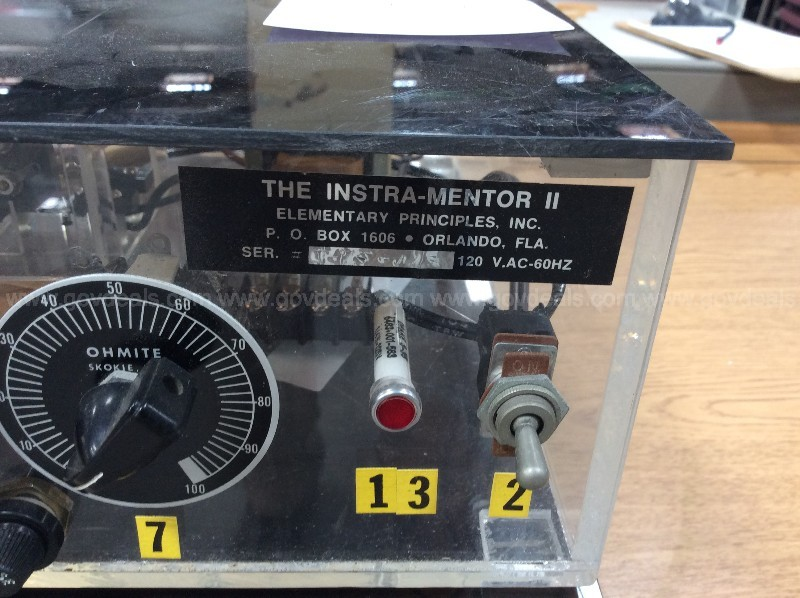 2 The Instra-Mentor II Units