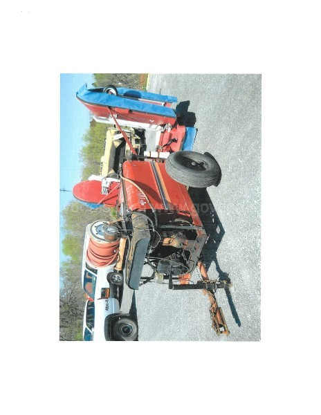 FMC-2 200 gallon Grounds sprayer