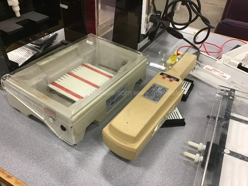 Lot of various Gel equipment