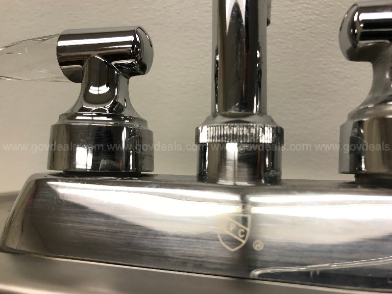 INDUSTRIAL COMMERCIAL FRANKE USA METAL SINK FAUCET