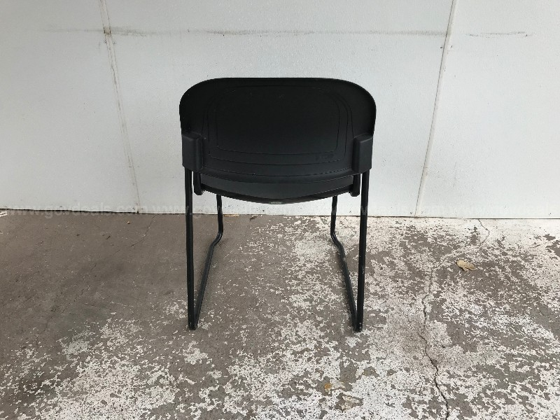 HON STATIONARY CHAIRS GROUP LOT OF 6