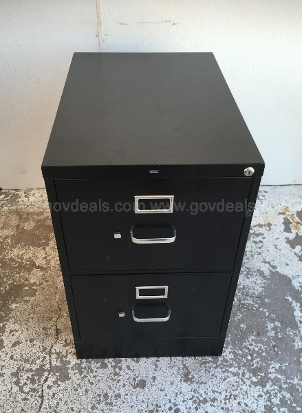 HON TWO DRAWER LEGAL FILE CABINET