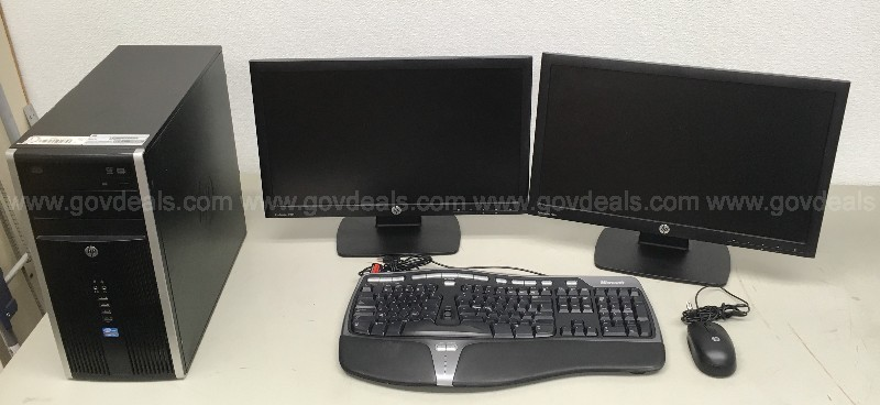 HP DESKTOP COMPUTER INTEL I5 COMBO KIT