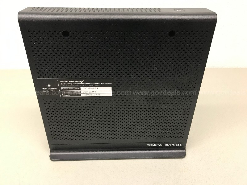 COMCAST BWG BUSINESS MODEM ROUTER DUAL-BAND