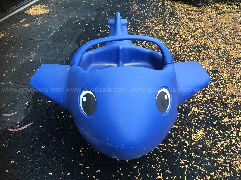 COMMERCIAL OUTDOOR PLAYGROUND ROCKING PLANE