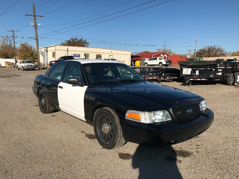 2011 FORD CROWN VICTORIA POLICE INTERCEPTOR 4.6L V8