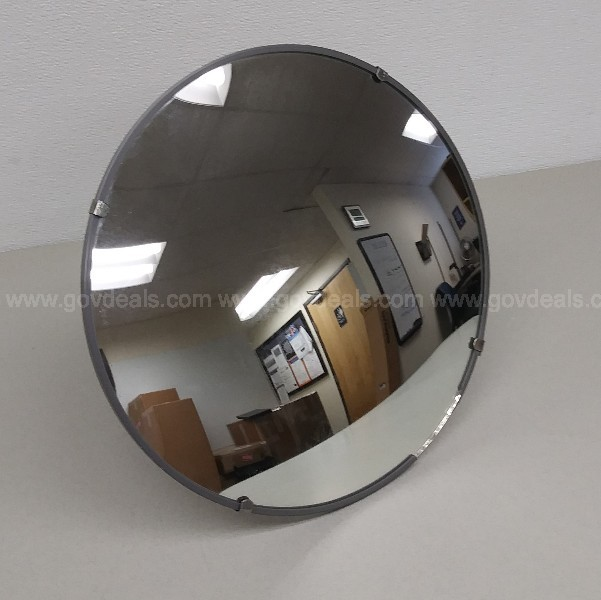 FRED SILVER & COMPANY TRAFFIC SAFETY MIRROR CONVEX SECURITY MIRROR