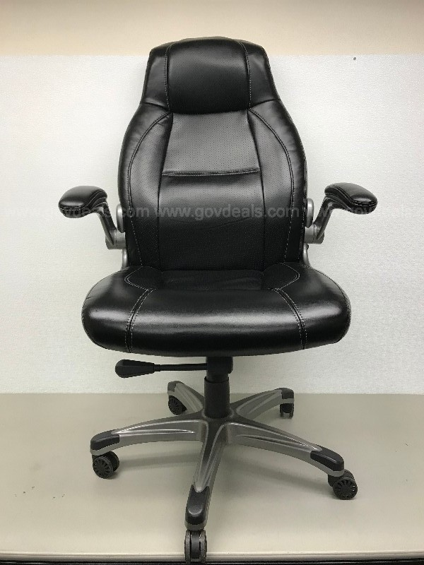 STAPLES 5 POINT ROLLING OFFICE CHAIR BLACK