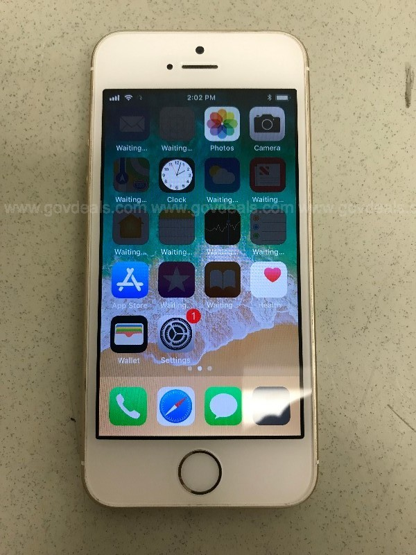 APPLE IPHONE SE 16GB SPACE GOLD