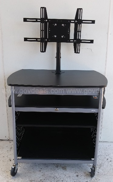 SAFCO ROLLING CART COMPUTER OFFICE GARAGE SHOP CART