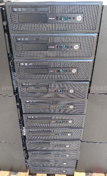 HP DESKTOP TOWERS INTEL CORE I5
