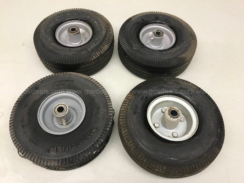 ASSORTED DOLLY HAND TRUCK WHEELS