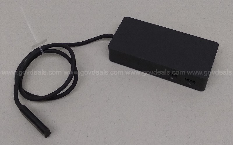 GENUINE MICROSOFT SURFACE PRO 4 3 DOCKING STATION MODEL 1661 POWER ADAPTER