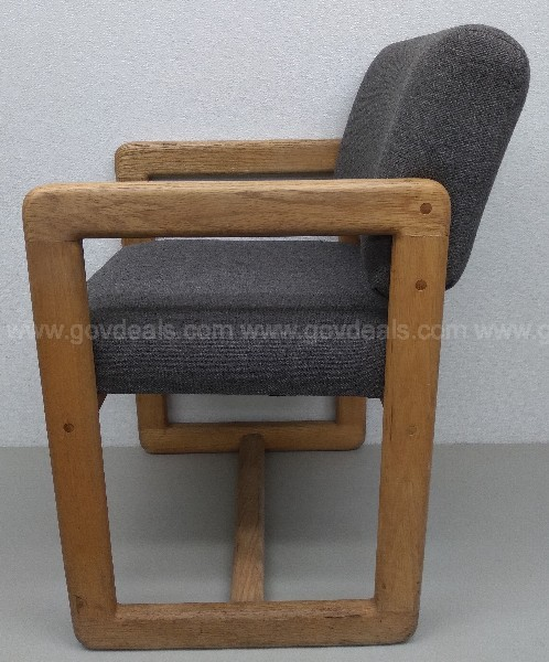 VALIANT MODERN WOOD FRAME OFFICE SITTING ROOM CHAIR