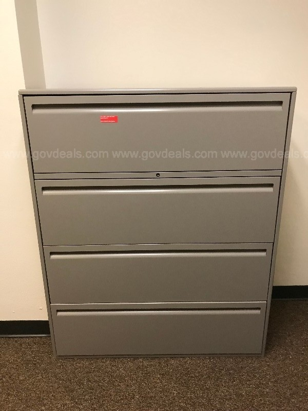 LATERAL FILE CABINET GREY