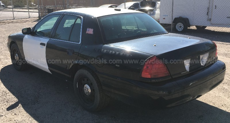 2010 Ford Crown Victoria Police Interceptor 4.6 V8