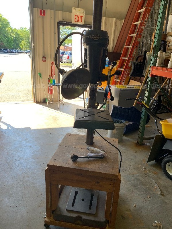 Sears, Roebuck and CO. Craftsman Drill Press
