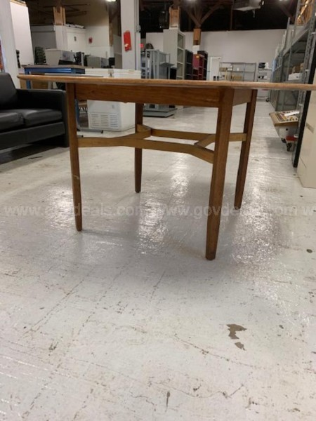 Knoll Wood Library Table