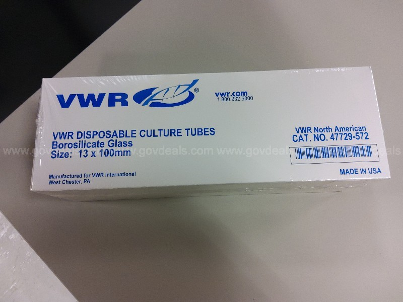 4 Boxes of Culture Tubes