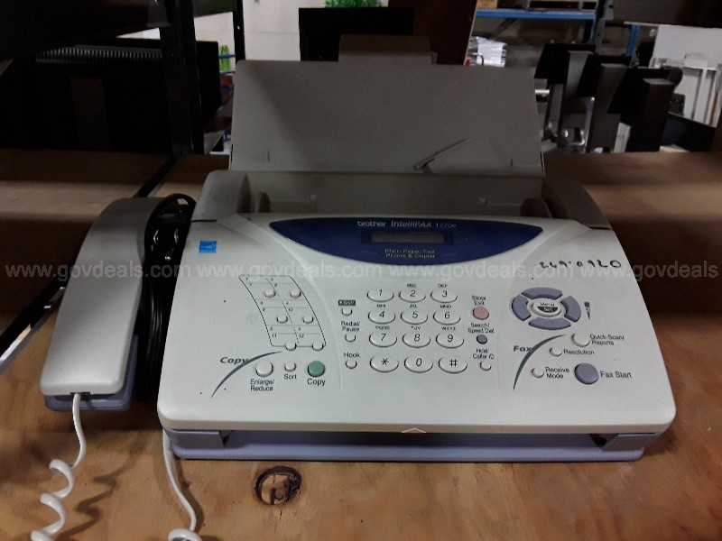Brother IntelliFAX 1270e Fax (Anchorage, Ak)