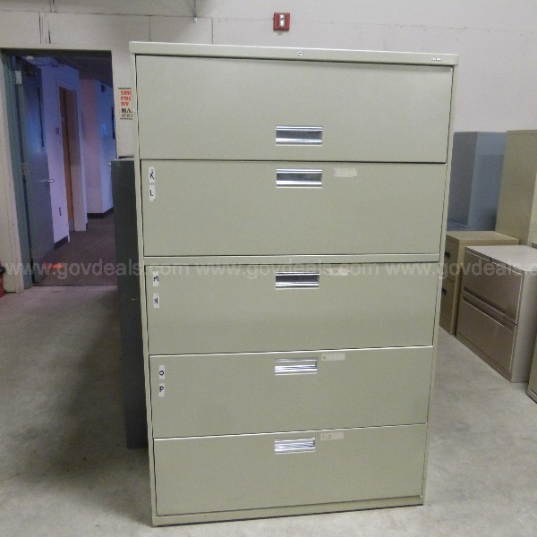 Lateral 5 Drawer File Cabinet (Anchorage)