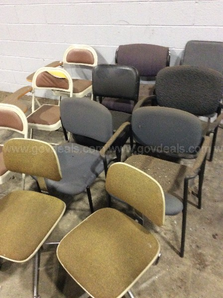 12 Assorted Chairs