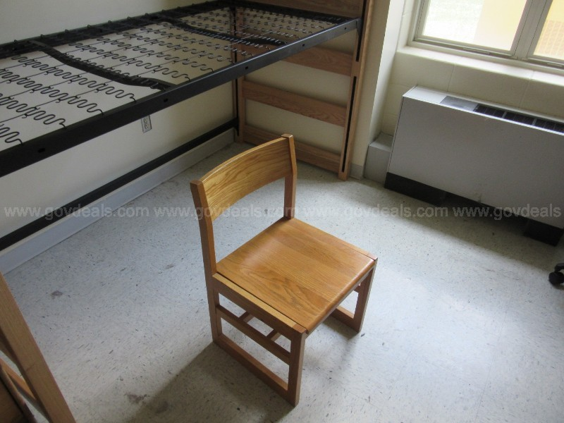 32 Wood Dorm Chairs