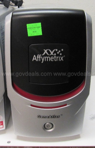 *CONDITION UNKNOWN*  1 LOT OF 2 Affymetrix GeneAtlas Components  U1615
