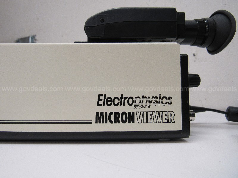 *CONDITION UNKNOWN*  ElectroPhysics Model 7290 A Micron Viewer  U1618