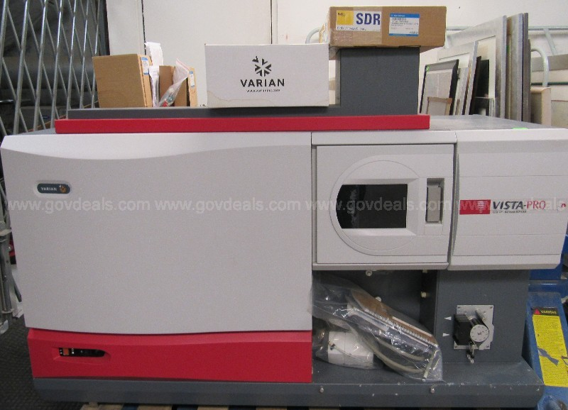 *CONDITION UNKNOWN*  Varian Vista-Pro CCD Simultaneous ICP-OES  U1646