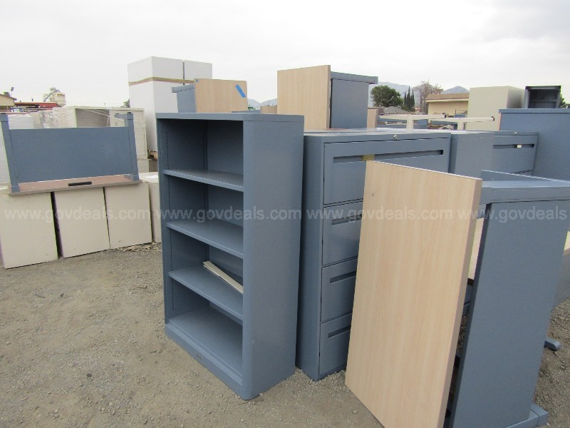 Large Lot of Office Furniture and Supplies